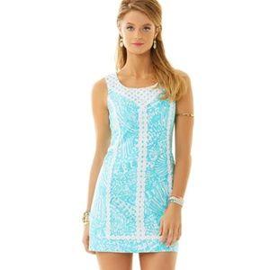 Lilly Pulitzer MacFarlane Lace Shift Dress Size 2